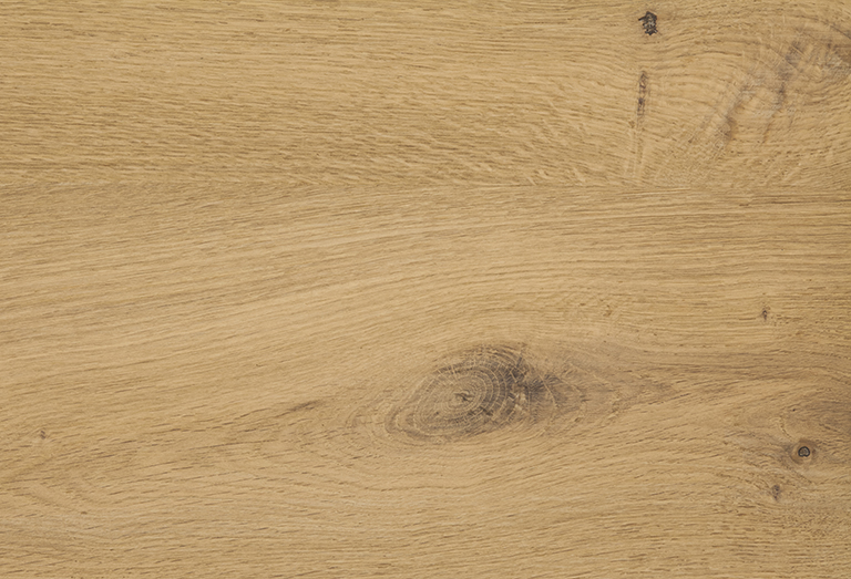 Natural oak with knots