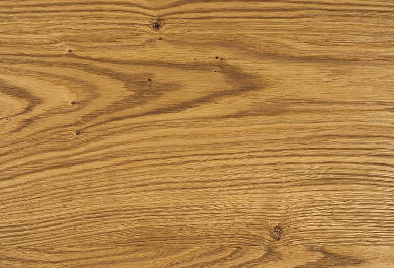 Brushed oak oiled